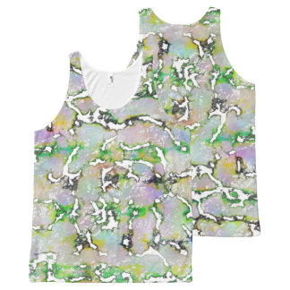 Abstraker, multicolored Tanktop for men & women All-Over Print Singlet