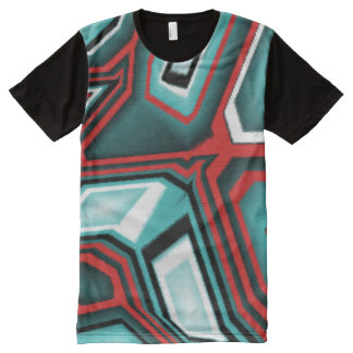 #Abstraktes futuristic T-shirt for Skater