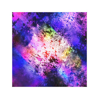 Abstrat Space Explosion 1 Canvas Print