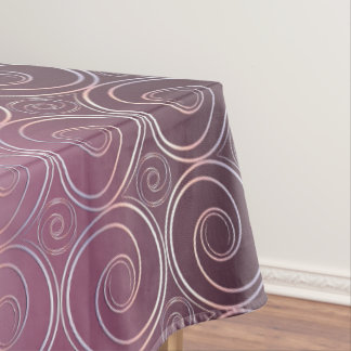 abstrct swirl tablecloth