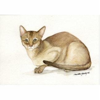 """""""Absyssinian Cat"""" Art Photo Sculpture"""