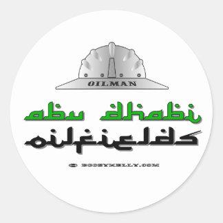 Abu Dhabi Oilfields, Oil Field Sticker