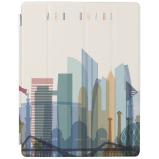 Abu Dhabi, United Arab Emirates | City Skyline iPad Cover