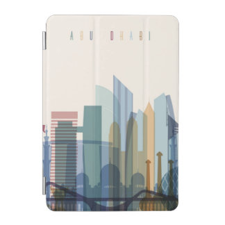 Abu Dhabi, United Arab Emirates | City Skyline iPad Mini Cover