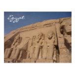abu simbel egypt postcards