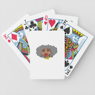 abuela bicycle playing cards