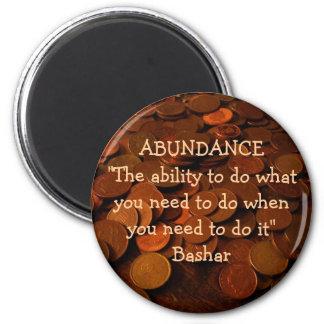 Abundance Ability 6 Cm Round Magnet