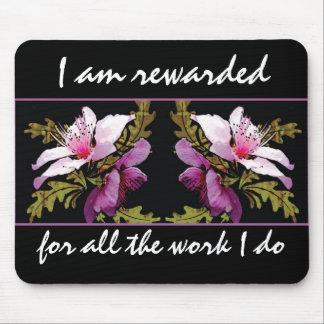 Abundance Affirmation Motivational Mousepad