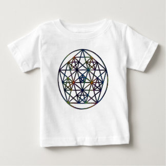 Abundance Sacred Geometry Fractal of Life Baby T-Shirt