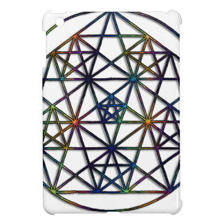 Abundance Sacred Geometry Fractal of Life iPad Mini Cover