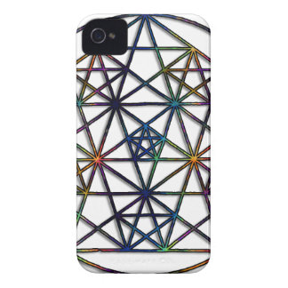 Abundance Sacred Geometry Fractal of Life iPhone 4 Case