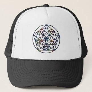 Abundance Sacred Geometry Fractal of Life Trucker Hat