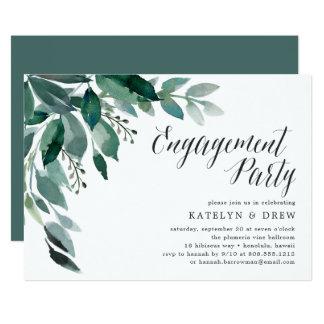 Abundant Foliage | Engagement Party Invitation
