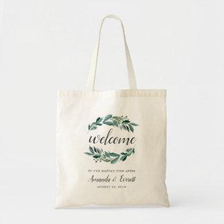 Abundant Foliage Wedding Welcome Tote Bag
