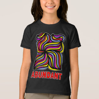 """Abundant"" Girls' American Apparel T-Shirt"
