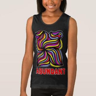 """Abundant"" Girls' Tank Top"