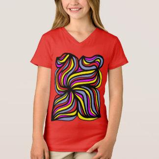 """""""Abundant"""" Girls' V-Neck T-Shirt"""