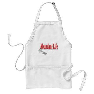 Abundant Life: The Key - v1 (John 10:10) Adult Apron