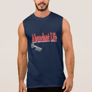 Abundant Life: The Key - v1 (John 10:10) Sleeveless Shirt