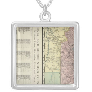 Abyssinia and Surrounding Countries Silver Plated Necklace
