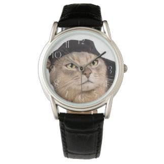 Abyssinian Cool Cap Cat Watch