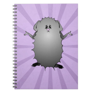 Abyssinian Guinea Pig Comic Note Book