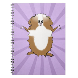 Abyssinian Guinea Pig Comic Note Books