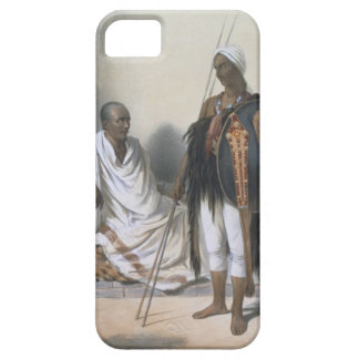 Abyssinian Priest and Warrior, illustration from ' Case For The iPhone 5