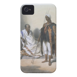 Abyssinian Priest and Warrior, illustration from ' iPhone 4 Case-Mate Case