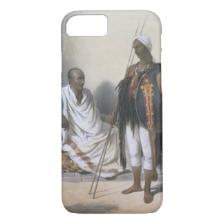 Abyssinian Priest and Warrior, illustration from ' iPhone 7 Case
