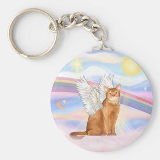 Abyssinian (red 18) - Clouds Key Ring