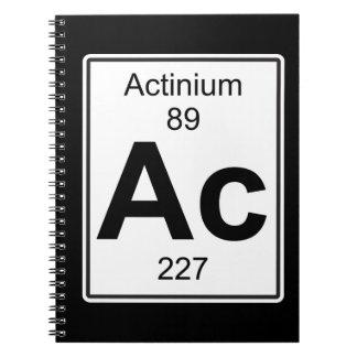Ac - Actinium Notebooks