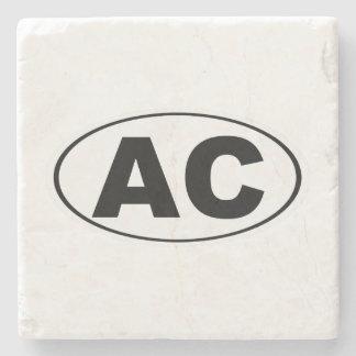 AC Atlantic City Stone Coaster
