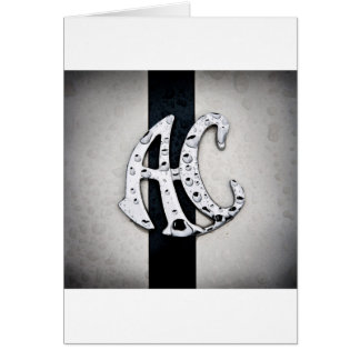 AC Badge Logo Art Card