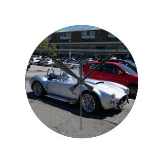 AC Cobra Replica Round Clock