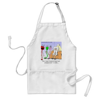 AC/DC Wiring Funny Relationship Gay/Lesbian Gifts Standard Apron