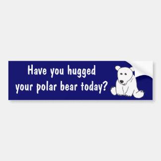 AC- Polar Bear Hug Bumper Sticker