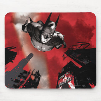 AC Poster - Batman flying Mouse Pads