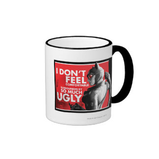 AC Propaganda - Catwoman Uncomfortable Ringer Mug