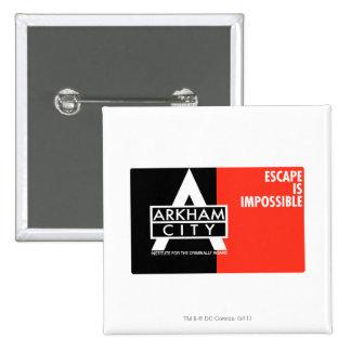AC Propaganda - Escape is Impossible Pin