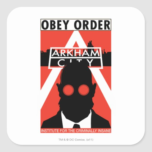 AC Propaganda - Obey Order Sticker