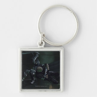 AC Screenshot 8 Silver-Colored Square Key Ring