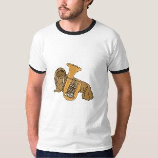 AC- Walrus Playing Tuba Shirt
