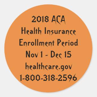 ACA Enrollment Stickers – Halloween Horror