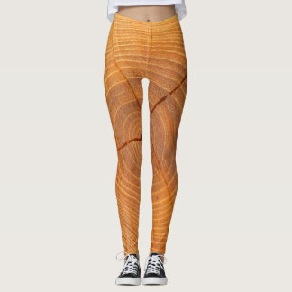 Acacia Tree Cross Section Leggings