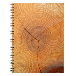 Acacia Tree Cross Section Photo Notebook
