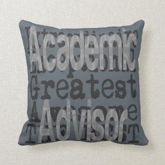 Academic Advisor Extraordinaire Cushion