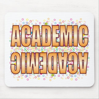 Academic Bubble Tag Mouse Pad