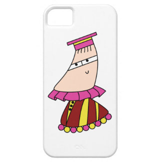 Academic dress kawaii cartoon character cases iPhone 5 covers