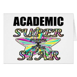 Academic Superstar Greeting Card